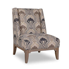 occasional chair ikat print