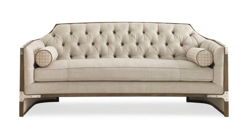 Max Sparrow Oxford Contemporary Chesterfield Sofa