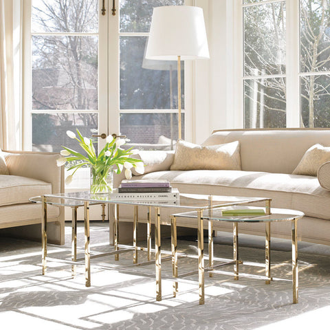 Don T Go Past A Gold Coffee Table For Living Room Glamour