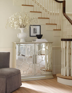 Mirrored Storage Unit Hall Console