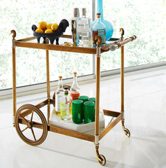 coco republic bar cart