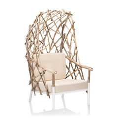 outdoor timber chair