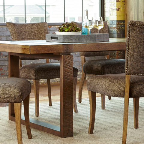 timber dining room table