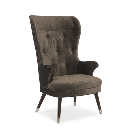 luxury wing back chair