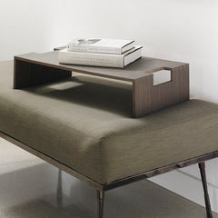 contemporary upholstered ottoman