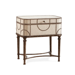 linen side table