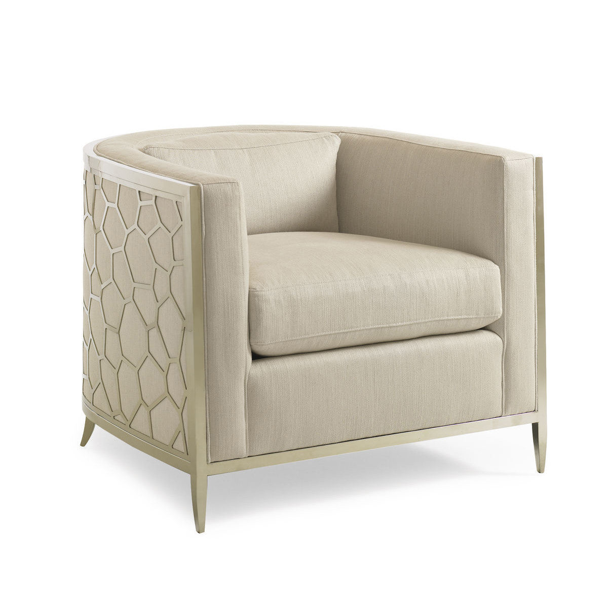 Jacques Round Back Arm Chair Max Sparrow