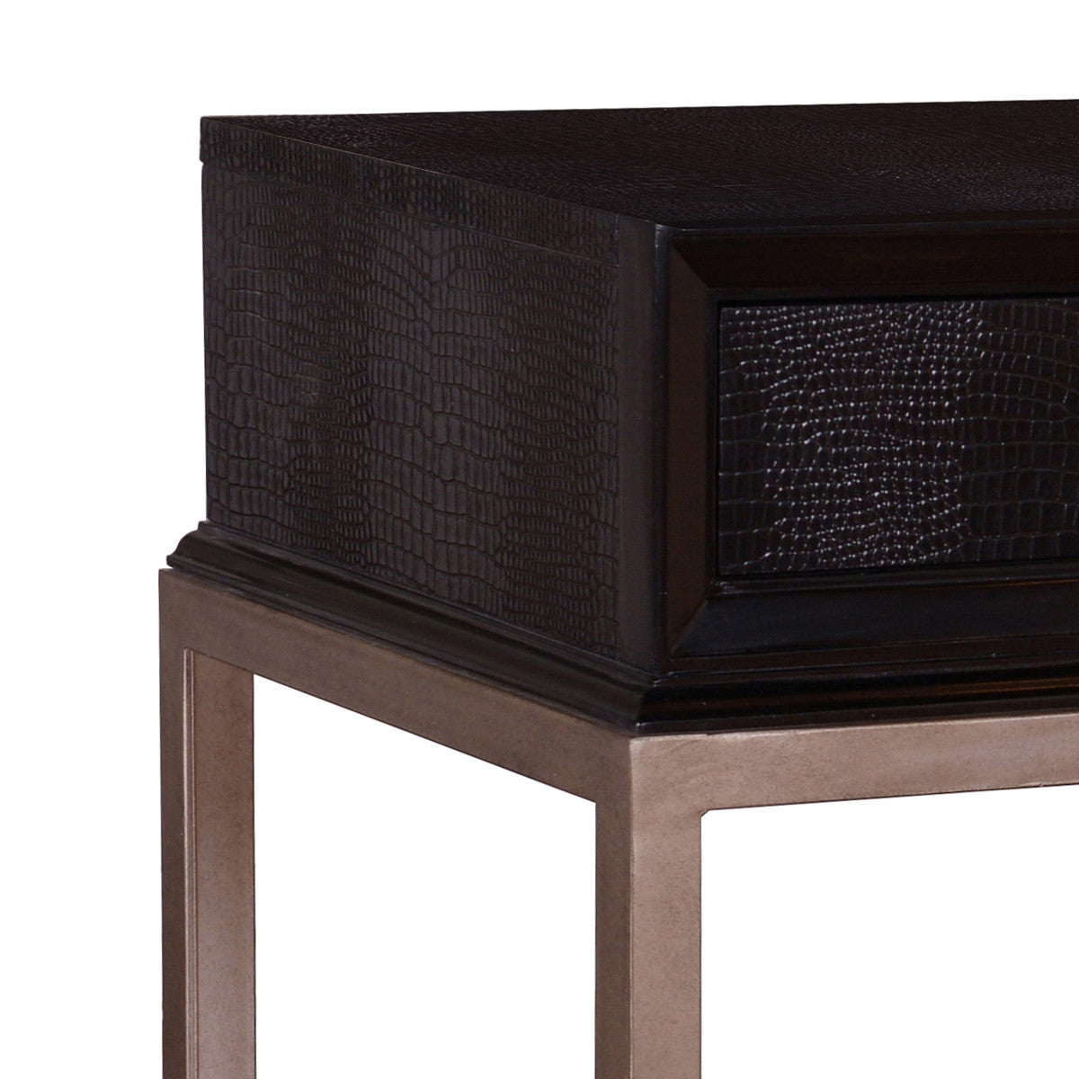 Milan console table ebony max sparrow styles geotapseo Image collections