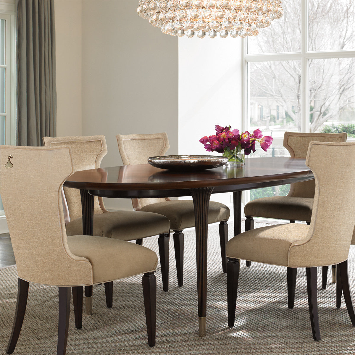 Highgate Extension Oval Dining Table
