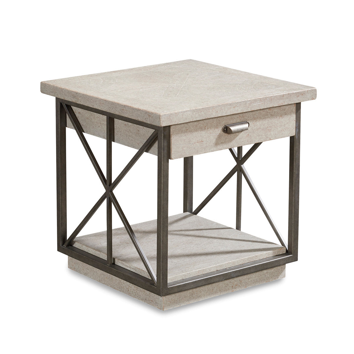 Ordinaire Lansdowne Metal Frame Side Table