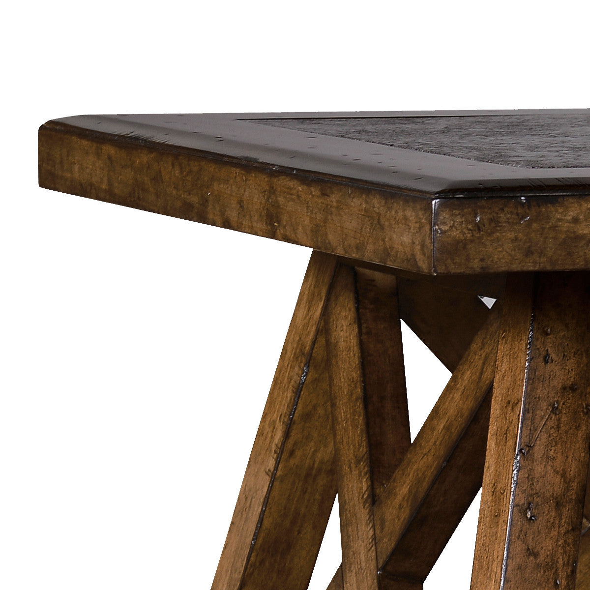 Edmund Stone Top Side Table Max Sparrow