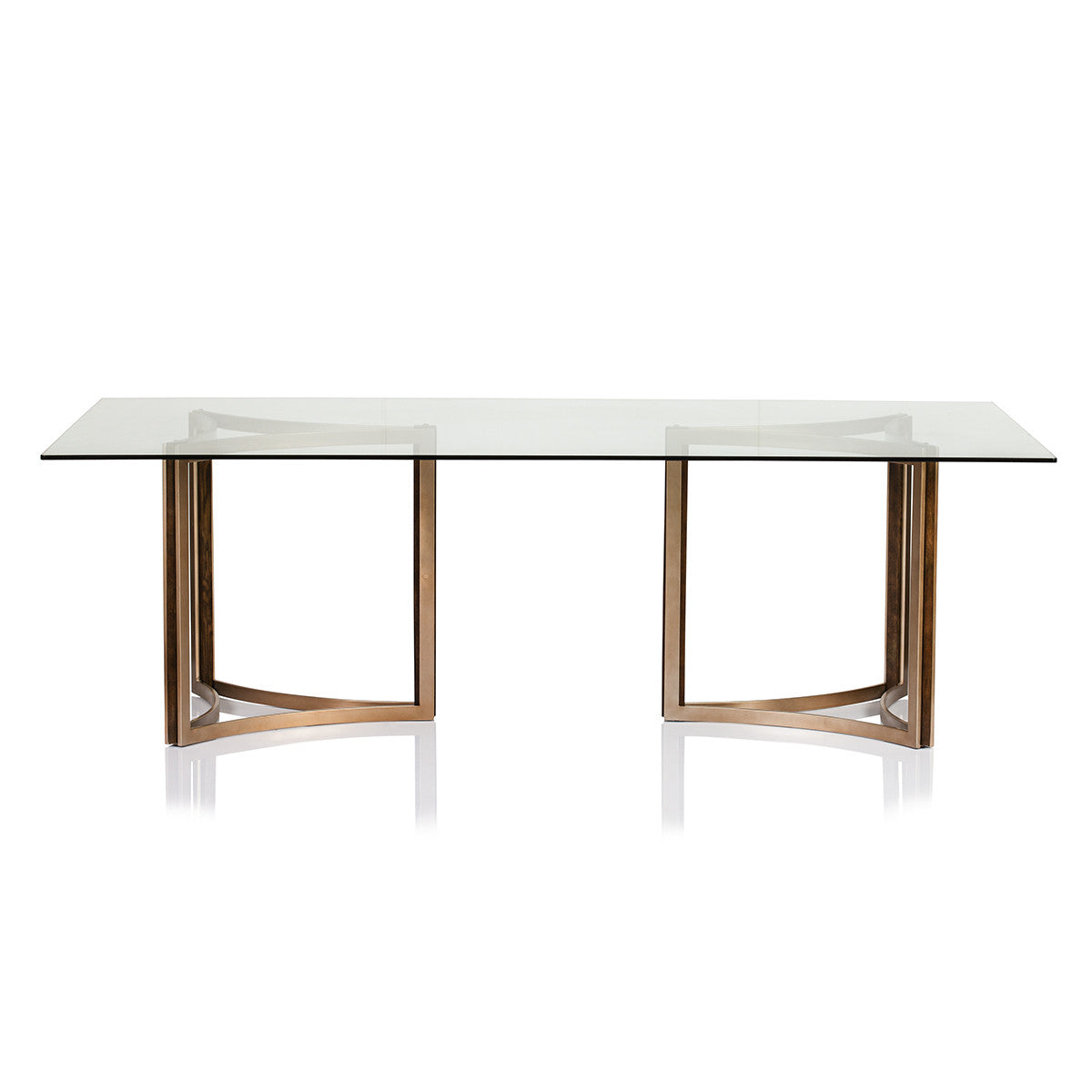 Manhattan Glass Top Table Max Sparrow