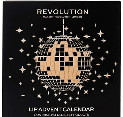 Revolution Lip Beauty Advent Calendar 25 Full Size Products