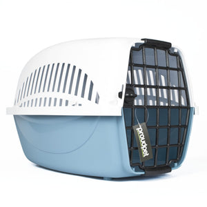 Hard Blue Pet Carrier - Small