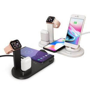 4 IN 1 Apple charging dock holder