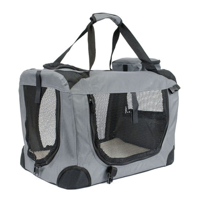 Soft Grey Pet Carrier - Medium