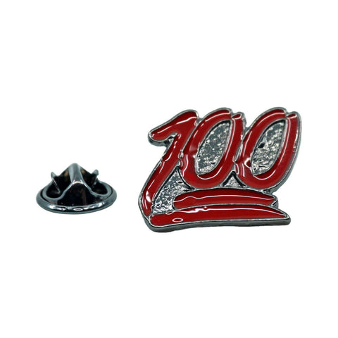 100 Emoji Metal Enamel Pin