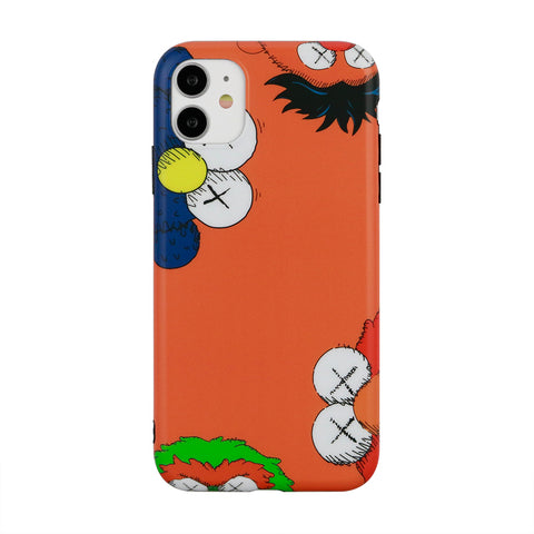 iPhone - Kaws X Sesame Street - Orange