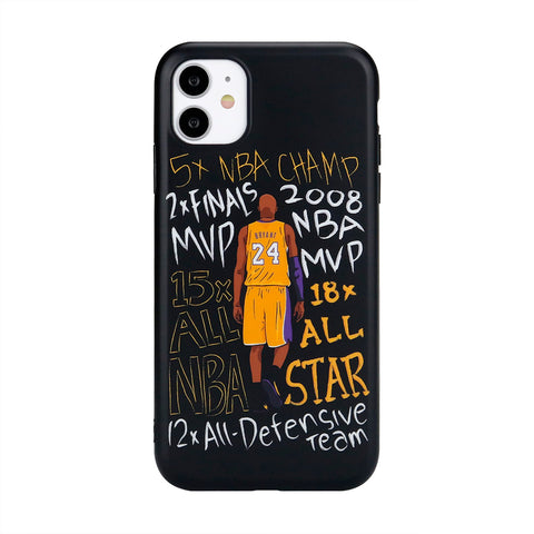 iPhone - Kobe MVP Accolades