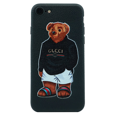iPhone - Gucci Bear Inspired Case - Black