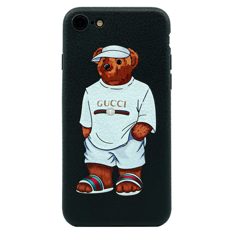 iPhone - Gucci Bear Inspired Case - White