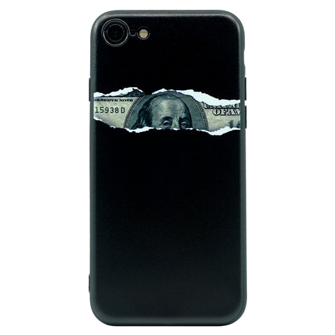 iPhone - $100 Peeking Benjamin - Black