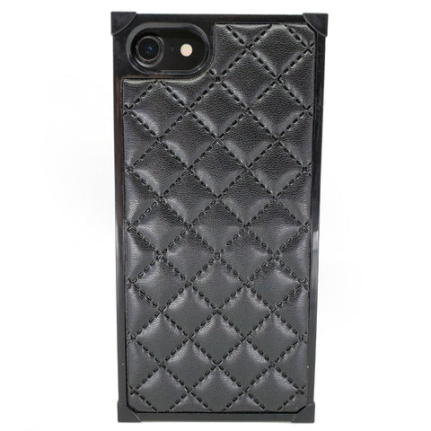 iPhone - Patterned Square Case - Black