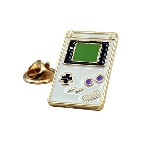 Gameboy Emoji Metal Enamel Pin