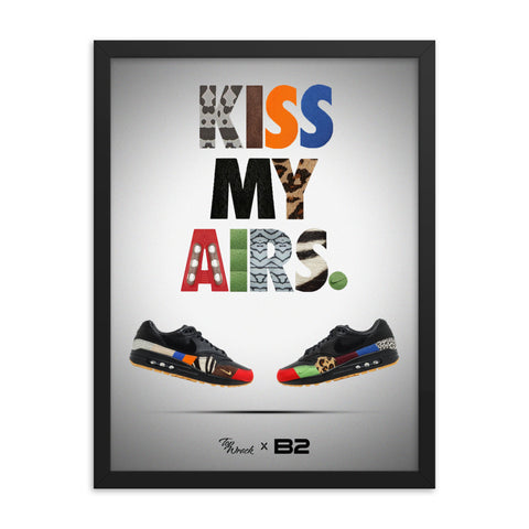 Kiss My Airs Artwork - Poster