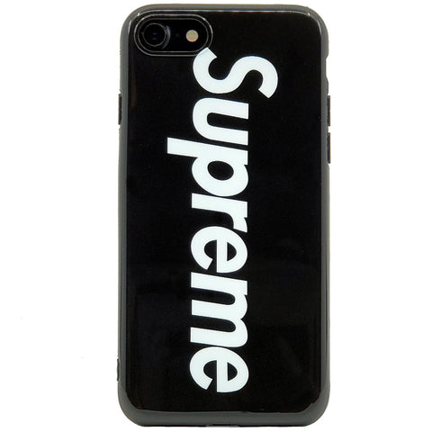iPhone - Supreme Soft Case - Black