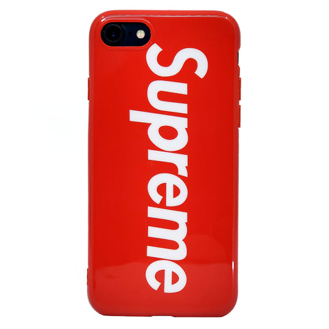 iPhone - Supreme Soft Case - Red