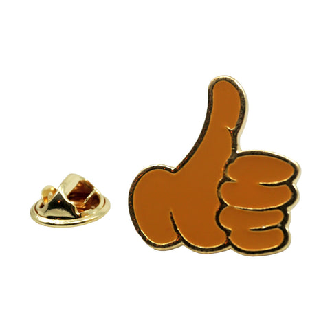 Thumbs Up Emoji Metal Enamel Pin