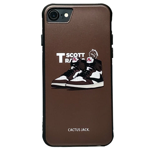 iPhone - Travis Scott X AJ 1 Cactus Jack
