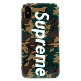 iPhone - Supreme Soft Case - Camo