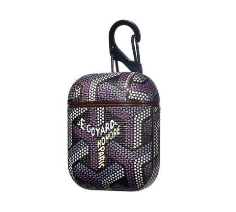 Airpod - Goyard Inspired - Black