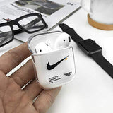 Airpod 1/2 - Off-White Nike - Clear