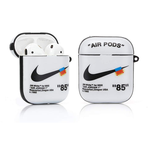 Airpod 1/2 - Off-White Inspired - White