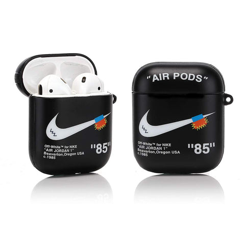 Airpod 1/2 - Off-White Inspired - Black