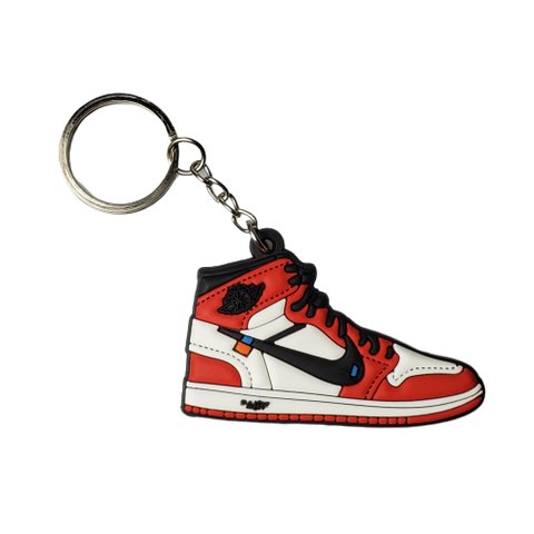 Off-White Chicago 1's - Red