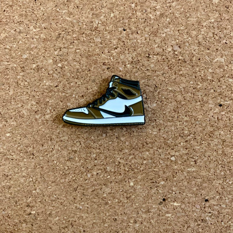 Travis Scott 1's Metal Enamel Pin