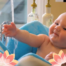 Load image into Gallery viewer, Flower Baby Bath