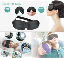 Load image into Gallery viewer, 3D Sleeping Eye Mask