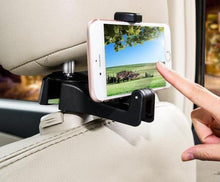 Load image into Gallery viewer, 2-in-1 Car Headrest Hook and Phone Holder
