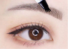 Load image into Gallery viewer, Waterproof 4-Head Fine Sketch Eyebrow Pen