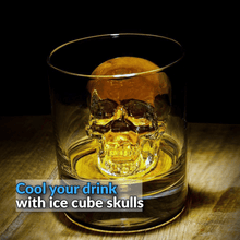 Load image into Gallery viewer, Skull Ice Cube Mold
