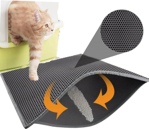 Easy Clean Cat Litter Mat