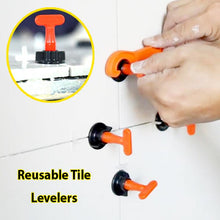 Load image into Gallery viewer, Reusable Tile Leveling System (50 pcs levelers)