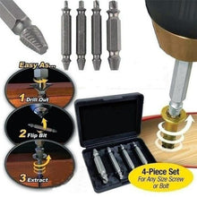 Load image into Gallery viewer, Damaged Screw Extractor Set (4 pieces)