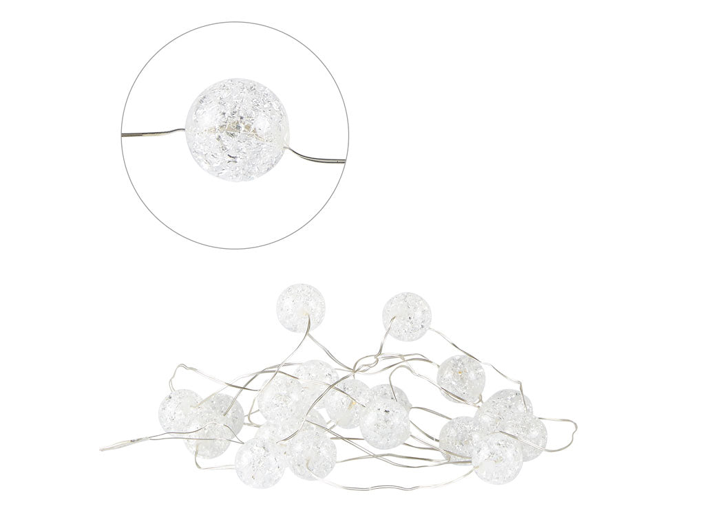 Villa Collection LED Decor ledning med 20 små runde lys