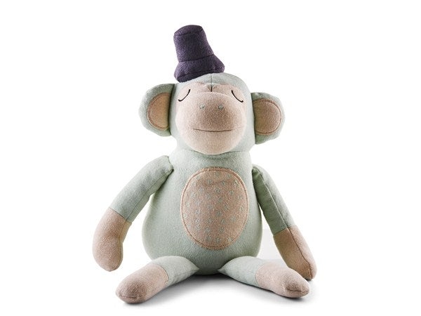 Södahl Magic Forest Monty Monkey bamse grøn